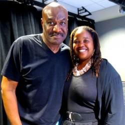 Delroy Lindo and Farai Chideya