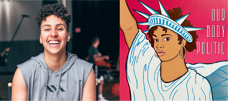 Our Body Politic: WNBA star Layshia Clarendon on personal & political; Washington Post editor examines anti-Asian violence; stories from powerful mothers of civil rights leaders.